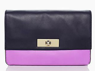 Kate Spade purple clutch