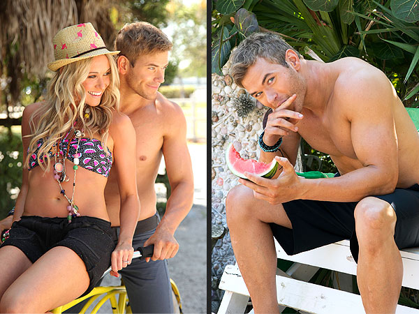 Kellan Lutz Katrina Bowden OP Shoot