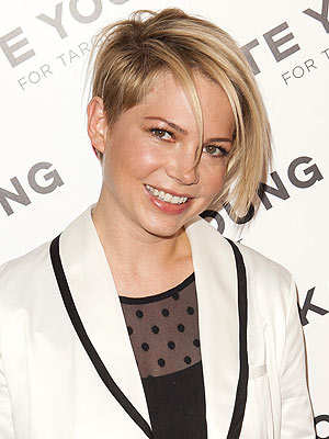 Michelle Williams hair look
