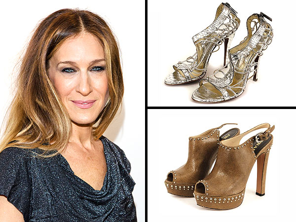 Sarah Jessica Parker shoes, shoe auction