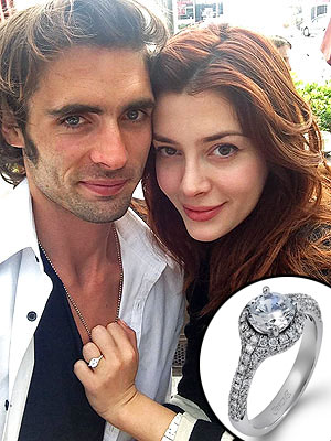 Tyson Ritter engagement ring pic
