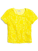 Madewell yellow shirt