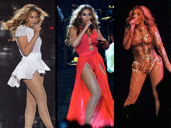 Beyonce Tour outfits