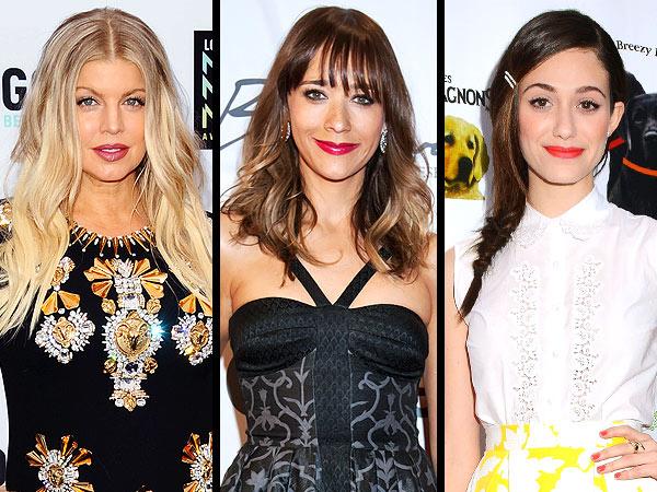 Spring lipstick, FErgie, Emmy Rossum