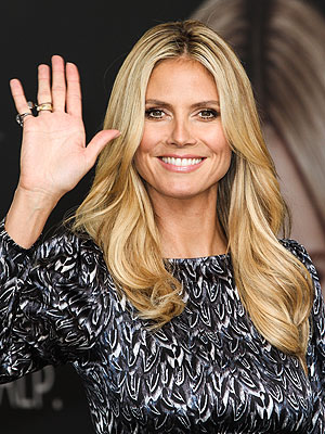 Heidi Klum hair