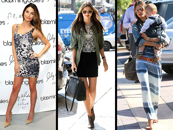 Miranda Kerr, Lily Aldridge clothing