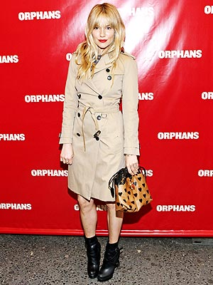 Sienna Miller trench
