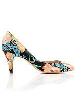 Loeffler Randall floral heels