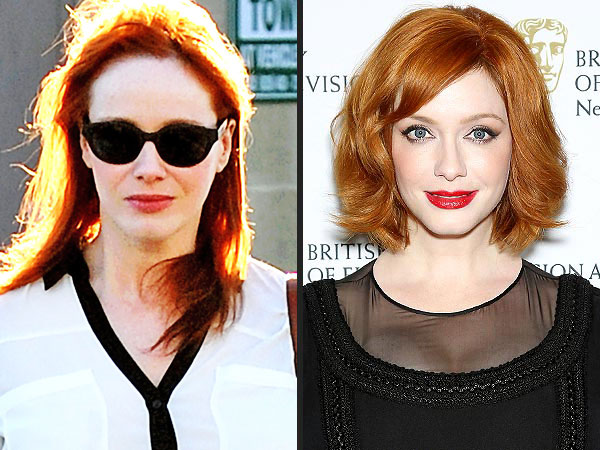 Christina Hendricks haircut