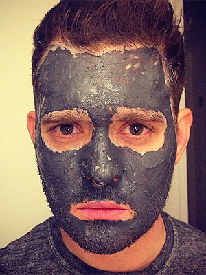 Michael Buble mud mask