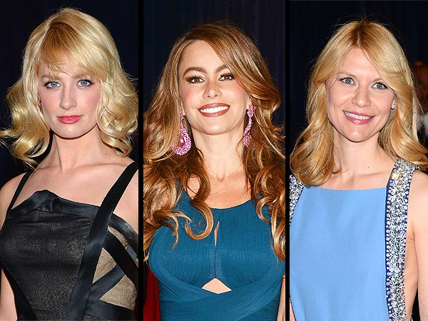 claire danes 600x450 Seventies Hair Is Huge (Literally!) at the White House Correspondents Dinner