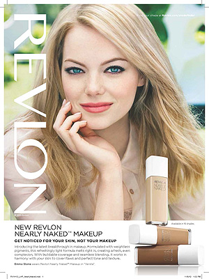 Emma Stone Revlon ad