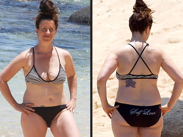 Alanis Morissette's Bikini