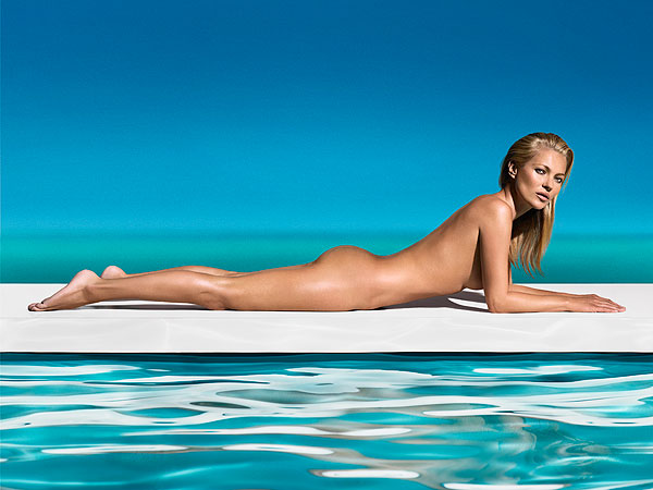 Kate Moss Naked St. Tropez
