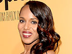 Kerry Washington Goes From Purple to Red Streaks in Just Three Days | Kerry Washington