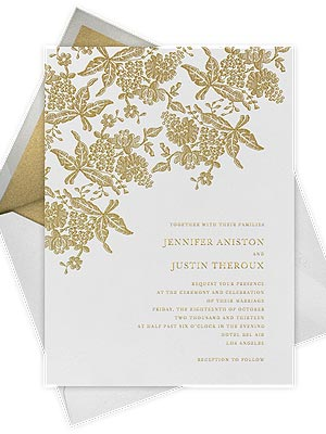 Oscar de la Renta Paperless Post invitations