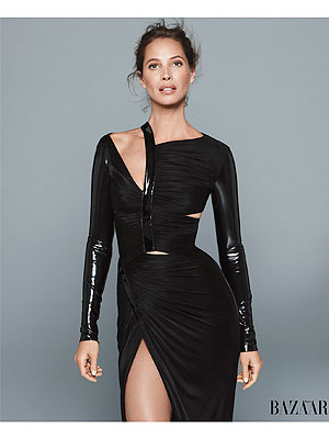 Christy Turlington Harper's Bazaar
