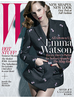 Emma Watson W cover