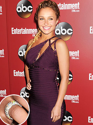 Hayden Panettiere engagement ring
