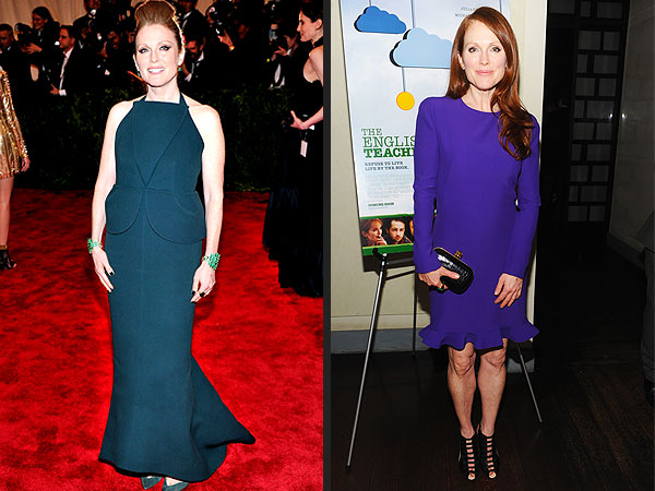 Julianne Moore dresses