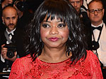 Octavia Spencer&#39;s Red-Hot Tadashi Shoji Cannes Gown: All the Exclusive Scoop