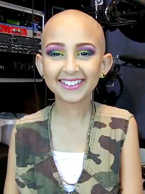 Talia Covergirl Bald Chick