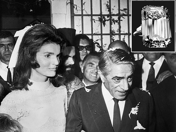 Harry Winston Jacqueline Onassis diamond