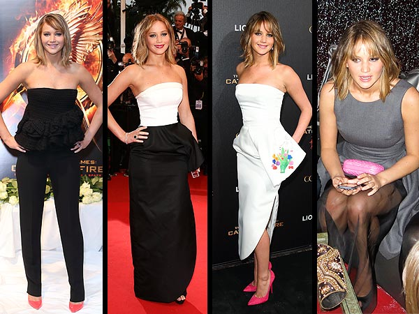 jennifer lawrence 600x450 4 Outfits in 1 Day: Jennifer Lawrence's Glam Cannes Style