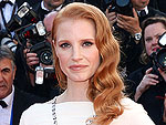 Jessica Chastain Wears Elizabeth Taylor&#39;s Jewels to Cannes Cleopatra Screening