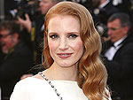 Jessica Chastain: It Was 'a Little Scary' to Wear Elizabeth Taylor's Necklace