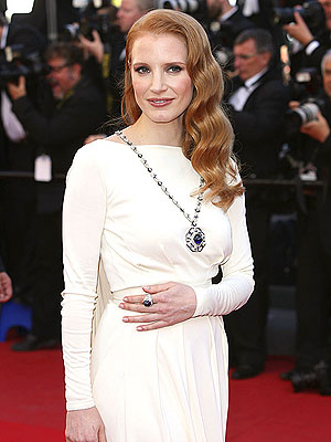 Jessica Chastain Cannes 2013