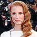 Jessica Chastain Wears Elizabeth Taylor's Jewels to Cannes Cleopatra Screening
