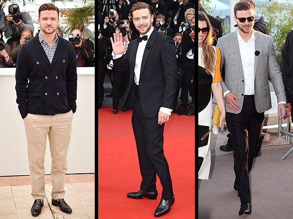 Justin Timberlake Cannes 2013 style