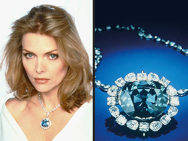 Harry Winston Michelle Pfeiffer diamond