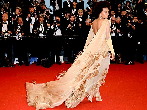Solange Knowles Cannes 2013