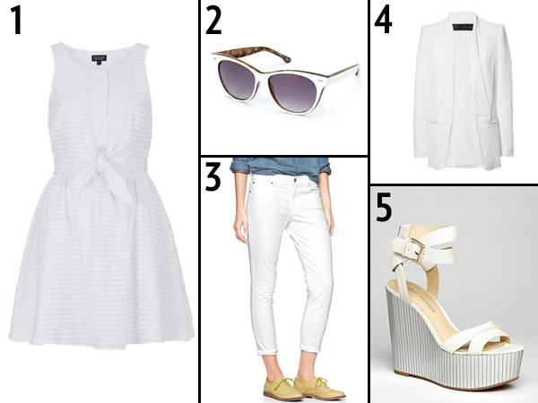 White Wardrobe for Summer