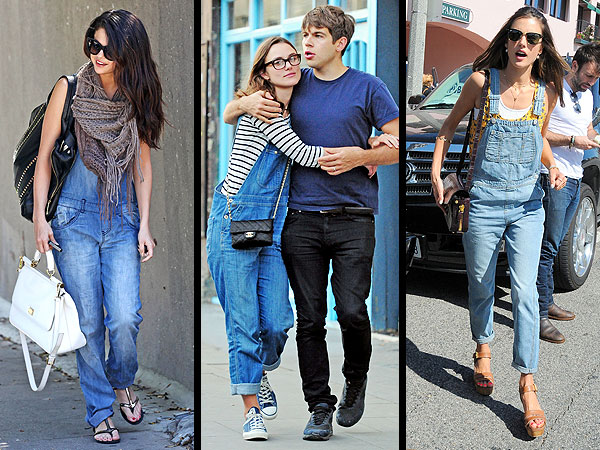 selena gomez 3 600x450 Overalls Are Really Happening. Are You In or Out?