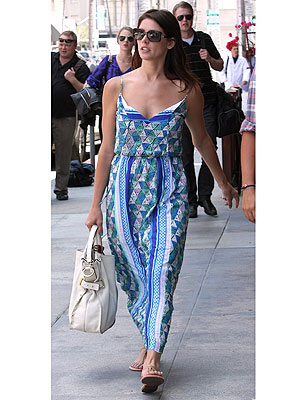 Ashley Greene maxi