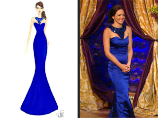Desiree Designs Her Own Bachelorette Dress: Get All the Details