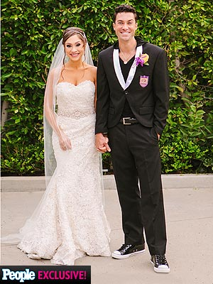 Diana DeGarmo Wedding Dress