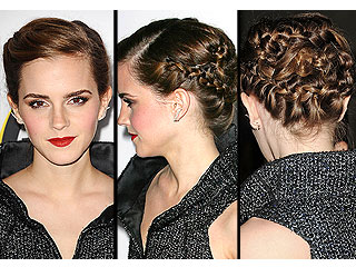 Be Dazzled by Emma Watson's Bling Ring Premiere Braids