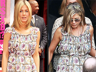 Jennifer Aniston Rewears a Red Carpet Dress for Lake Bell's Wedding
