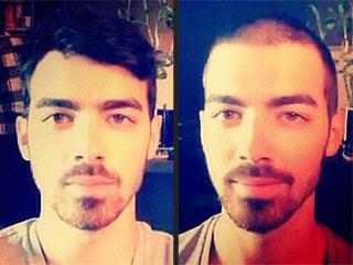 Is It an Oops? Watch Joe Jonas Shave His Head