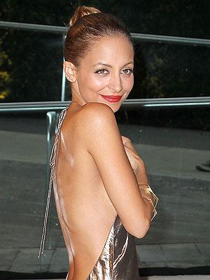 Nicole Richie beauty mishap