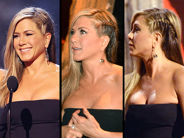 Jennifer Aniston braided hair