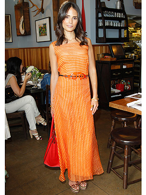 Jordana Brewster maxi dress