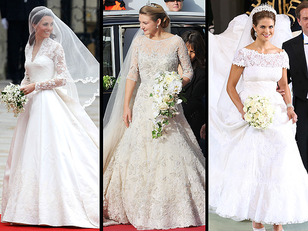 princess madeleine 600x450 Princess Madeleine of Sweden's Wedding Dress: All the Details!