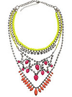 Accessorize Neon Necklace