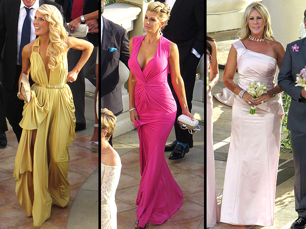 Tamra Barney wedding dress