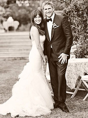 Lindsay Price wedding dress